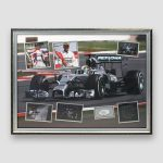 Lewis-Hamilton-Personally-Signed-&-Mounted-Framed-Montage-Display