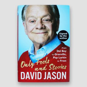 David Jason Signed 1st Edition Only Fools and Stories Book MFM Sports Memorabilia