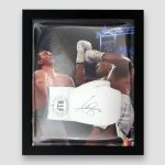 Anthony-Joshua-Signed-and-Framed-white-VIP-quality-boxing-glove