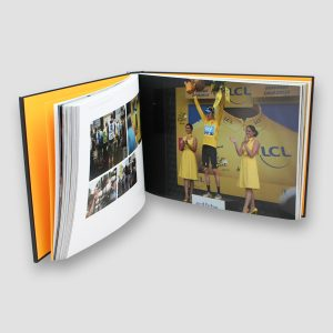 The Official Bradley Wiggins 101 Classic Edition Opus Book with Hand Signed Photograph MFM Sports Memorabilia