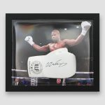 Daniel-Durois-Signed-and-Framed-White-VIP-Boxing-Glove
