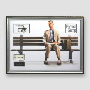 Forest Gump photo display personally signed by Tom Hanks