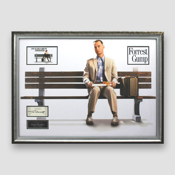 Forest-Gump-photo-display-personally-signed-by-Tom-Hanks
