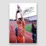 Marco Van Basten Signed Photo Print