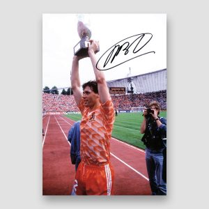 Marco Van Basten Signed Photo Print MFM Sports Memorabilia