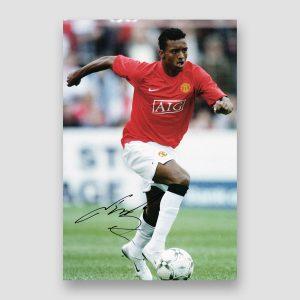 Nani Signed Manchester United Photo Print
