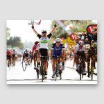 Mark Cavendish Signed Cycling Action Photo Print MFM Sports Memorabilia