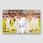 Kevin Pietersen Holding The Ashes Trophy Signed Photo Print MFM Sports Memorabilia