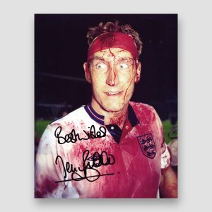Terry Butcher Historic England Signed Photo Print