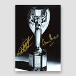 Autographed 1966 World Cup Photo Print by 6 of the England Winning Team
