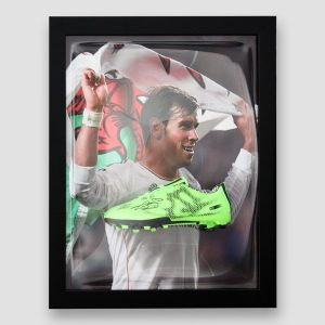 Gareth Bale Signed and Framed Football Boot – Wales/Real Madrid