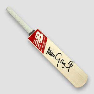 Michael (Mike) Gatting OBE Signed Brand New, New Balance Mini Cricket Bat MFM Sports Memorabilia