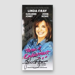 Terms of Endearment Play Flyer Signed by Linda Gray and John Bowe MFM Sports Memorabilia