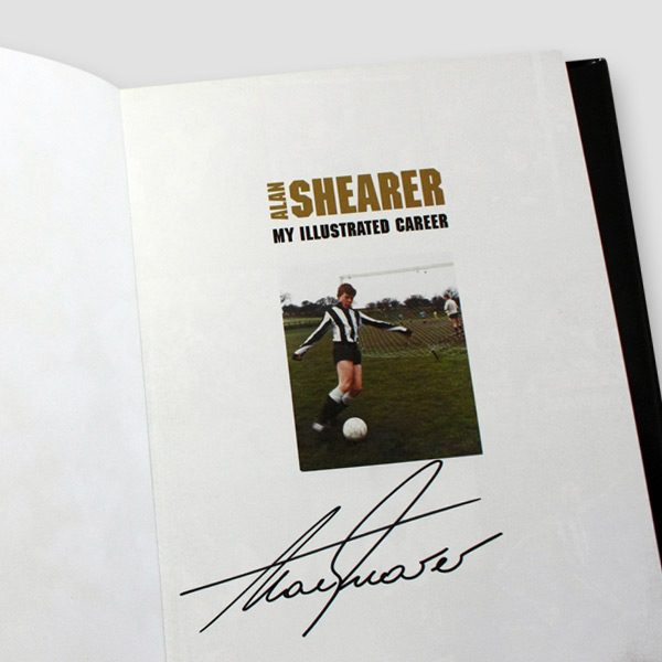 Alan-Shearer-signed-autobiography'-My-illustrated-career'