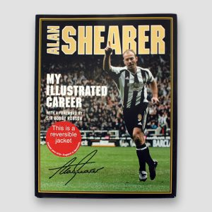 Alan Shearer Signed Autobiography 'My Illustrated Career'