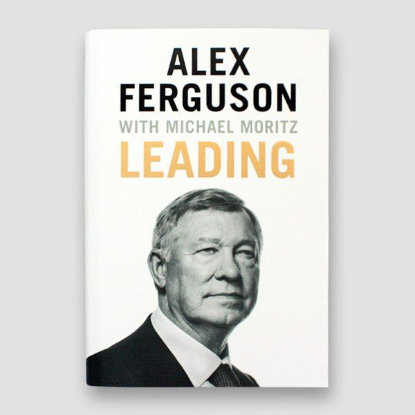 Alex Ferguson Signed Autobiography 'Leading'