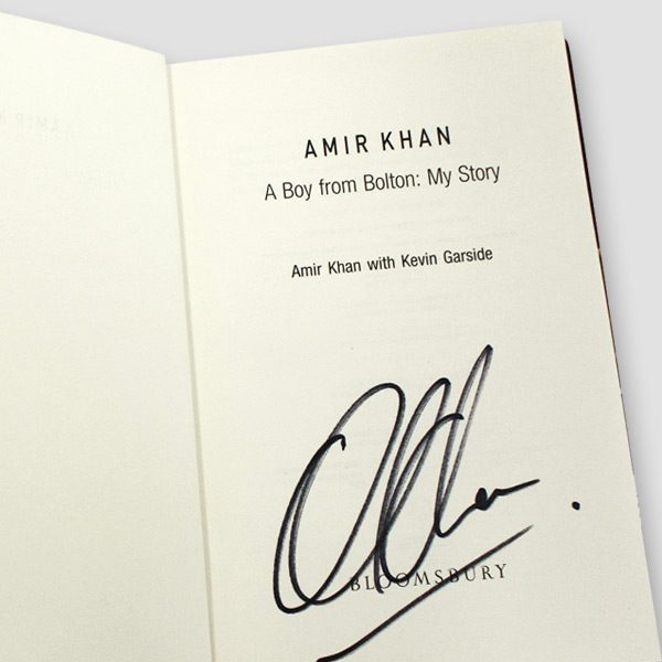 Amir-Khan-signed-autobiography-'A-boy-from-Bolton,-My-story'