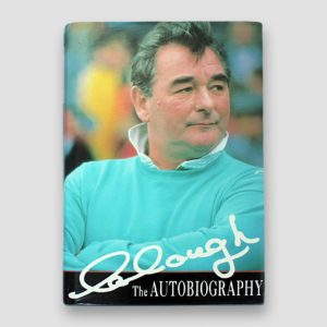 Brian Clough Signed Autobiography 'Clough, The Autobiography'