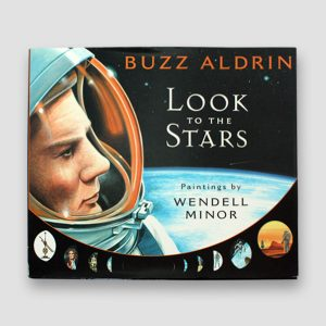 Buzz Aldrin Signed Autobiography 'Look To The Stars'