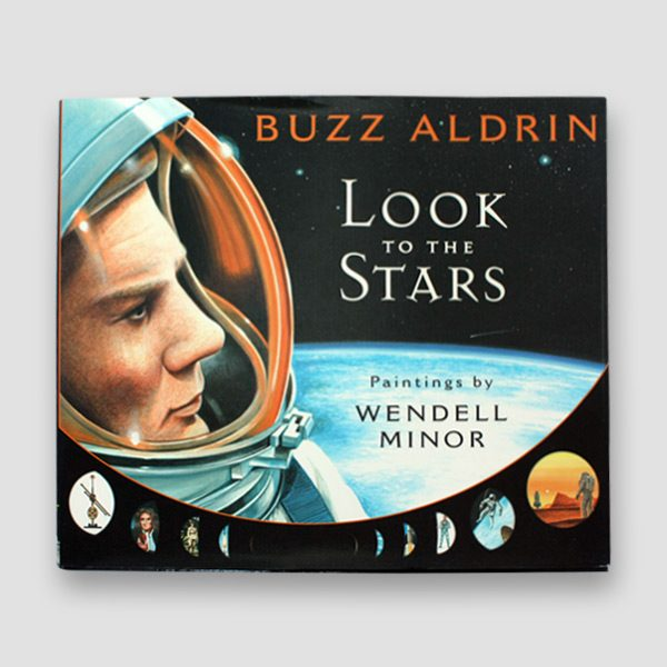 Buzz-Aldrin-signed-Autobiography-'Look-to-the-stars'—cover