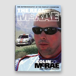 Colin McRae Signed Autobiography 'The Real McRae'