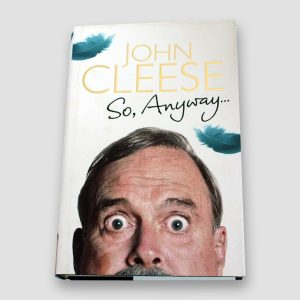 John Cleese Signed Autobiography 'So Anyway'