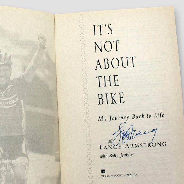 Lance-Armstrong-signed-autobiography