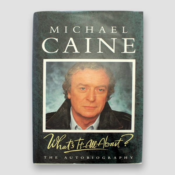 Michael-Caine-signed-autobiography-'What's-it-all-about'—cover