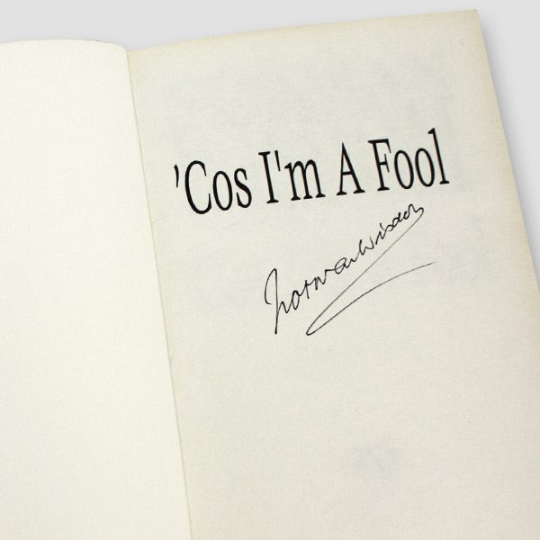 Norman-Wisdom-signed-autobiography-'Cos-i'm-a-fool'