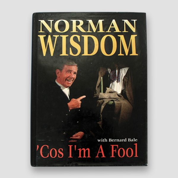 Norman-Wisdom-signed-autobiography-'Cos-i'm-a-fool'—cover