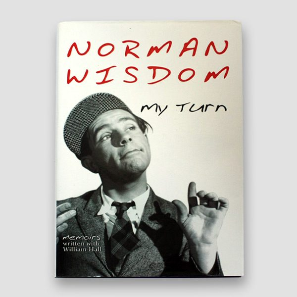 Norman-Wisdom-signed-autobiography—My-turn—cover