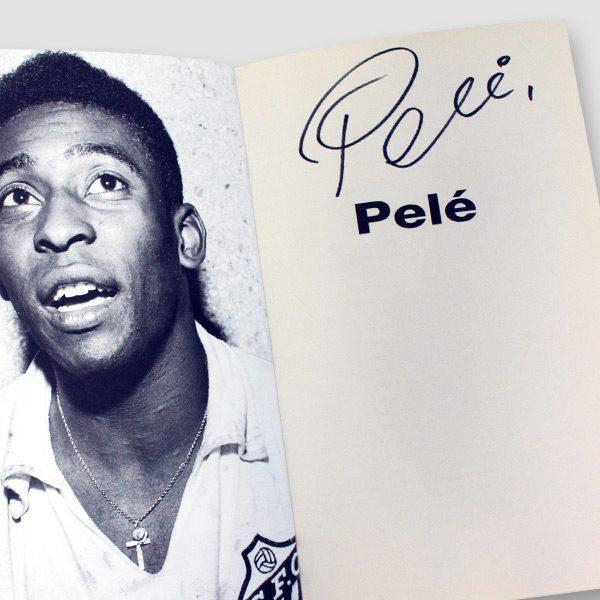 Pele-signed-Autobiography