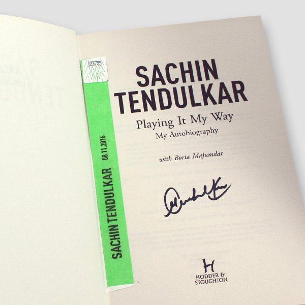 Sachin-Tendulkar-signed-Autobiography