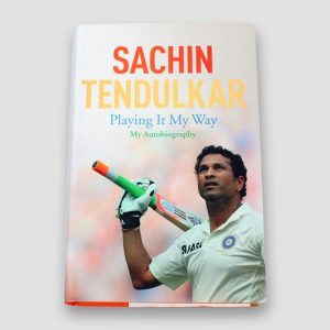 Sachin Tendulkar signed Autobiography 'Playing It My Way'