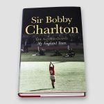 Sir-Bobby-Charlton-signed-1st-edition-autobiography—title-page-cover