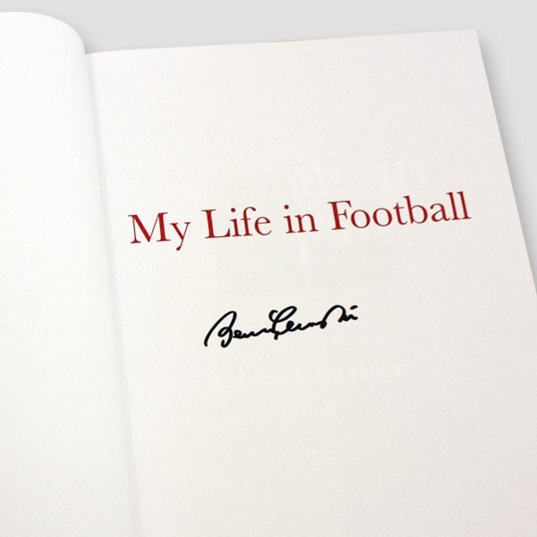Sir Bobby Charlton Signed Autobiography 'My Life in Football'