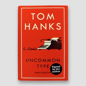 Tom Hanks Signed Autobiography 'Uncommon Type'
