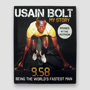 Usain Bolt Signed Autobiography '9.58' MFM Sports Memorabilia