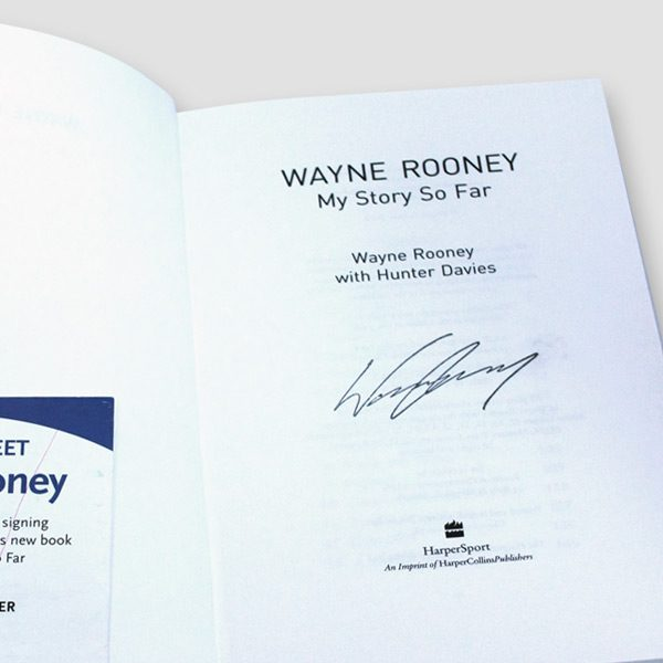 Wayne-Rooney-signed-1st-edition-autobiography