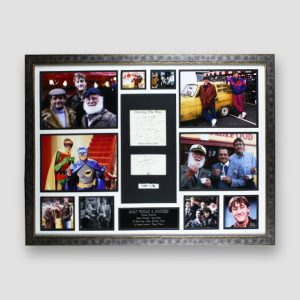 Only Fools and Horses Signed and Framed Montage MFM Sports Memorabilia