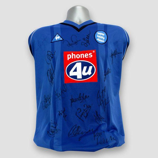 Birmingham-City-squad-signed-Football-Shirt-01-02-Season