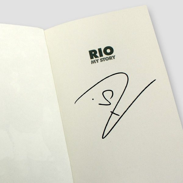 Rio Ferdinand Signed Autobiography 'My Story'