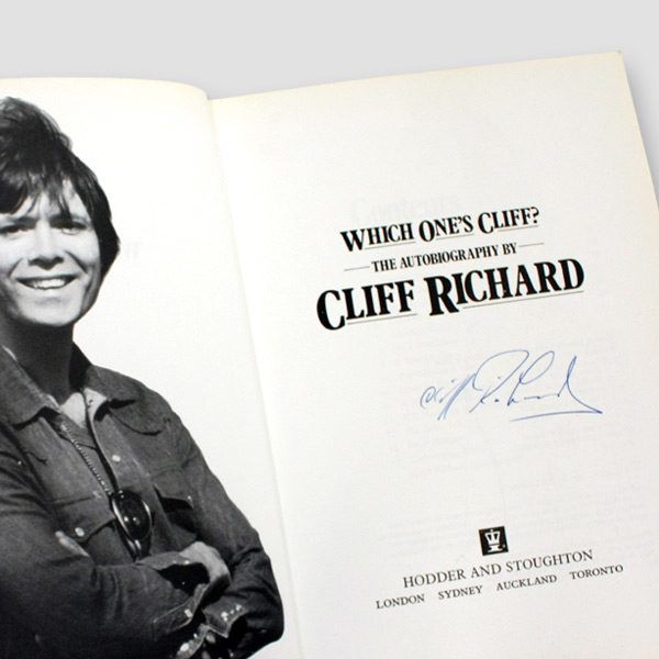 Sir-Cliff-Richard-signed-Autobiography-'Which-one's-Cliff'