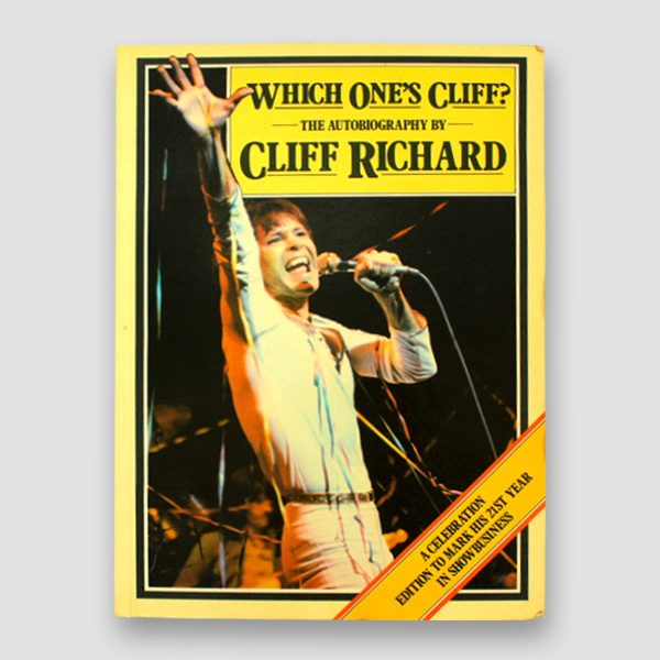 Sir-Cliff-Richard-signed-Autobiography-'Which-one's-Cliff'—cover