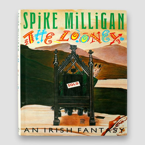 Spike-Milligan-Signed-Autobiography-'The-Looney-an-Irish-Fantasy—cover
