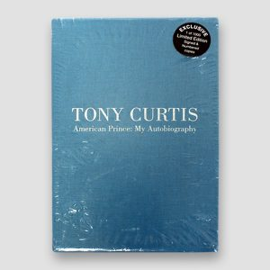 Tony Curtis Signed Limited Edition Autobiography 'American Prince : My Autobiography' MFM Sports Memorabilia