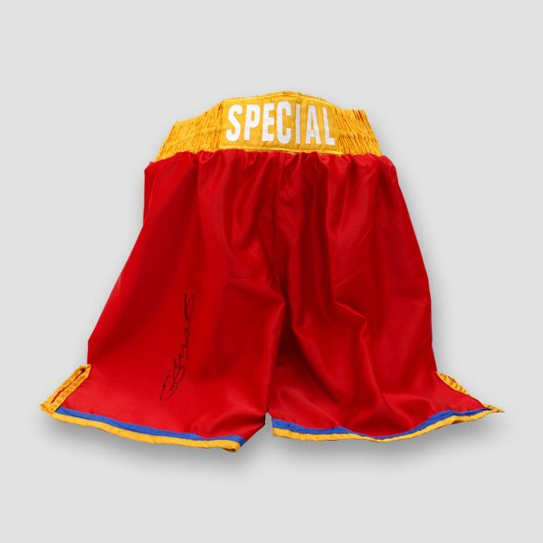 Kell-Brooks-British-Boxing-World-Champion-signed-shorts-trunks-Special-K