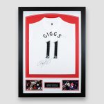 Liverpool FC Away Shirt from 2004/2005 Signed by Steven Gerrard