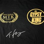 Tyson-Fury-signed-Black-&-gold-Gypsy-King-boxing-MTK-global-close