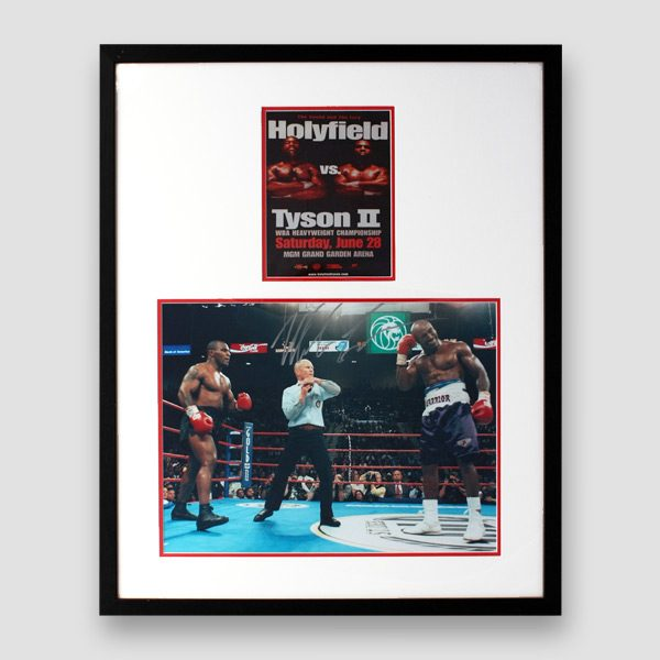 Mike-Tyson-signed-framed-picture-from-the-Holyfield-verses-Tyson